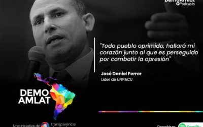 Podcast Demo Amlat – José Daniel Ferrer