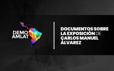 Documentos sobre la exposición de Carlos Manuel Álvarez