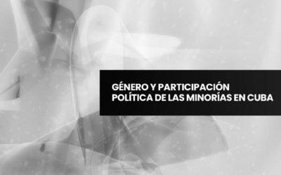 Género y Participación Política de la Minorías en Cuba