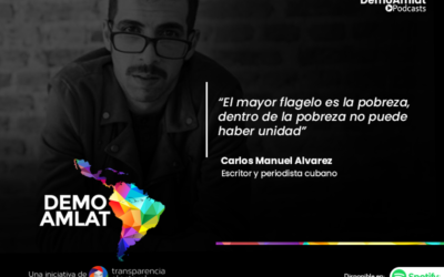Podcast Demo Amlat – Carlos Manuel Álvarez