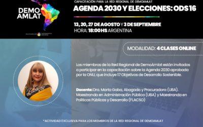 Agenda 2030 y elecciones: ODS16