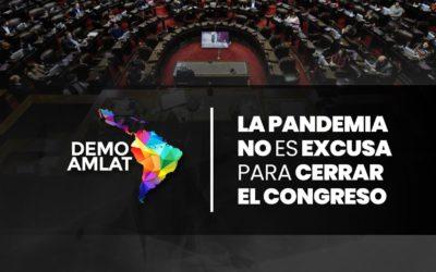 """Documento del panel """"La pandemia no es excusa para cerrar el Congreso"""""""