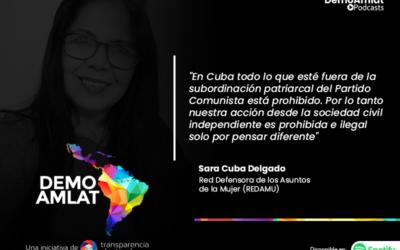 Podcast Demo Amlat – Sara Cuba (REDAMU)