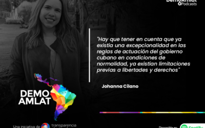 Podcast Demo Amlat – Johanna Cilano