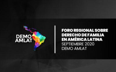 "Documento ""Foro Regional sobre Derecho de Familia en América latina"""