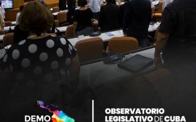 REPORTE DEL OBSERVATORIO LEGISLATIVO DE CUBA – OCTUBRE 2020