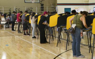 Soluciones de votación para toda la gente El nuevo modelo de Los Ángeles, California.