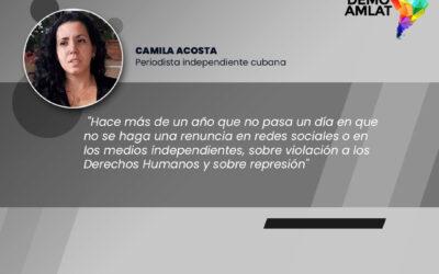 Podcast Demo Amlat – Camila Acosta sobre Movimiento San Isidro
