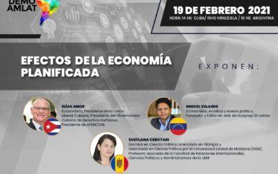 """Webinar """"Efectos de la economía planificada"""""""