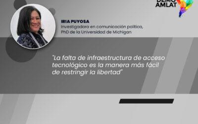 Podcast Demo Amlat – Iria Puyosa