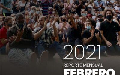 REPORTE DEL OBSERVATORIO LEGISLATIVO DE CUBA – FEBRERO 2021